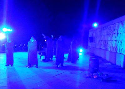Професионално осветление от събитие